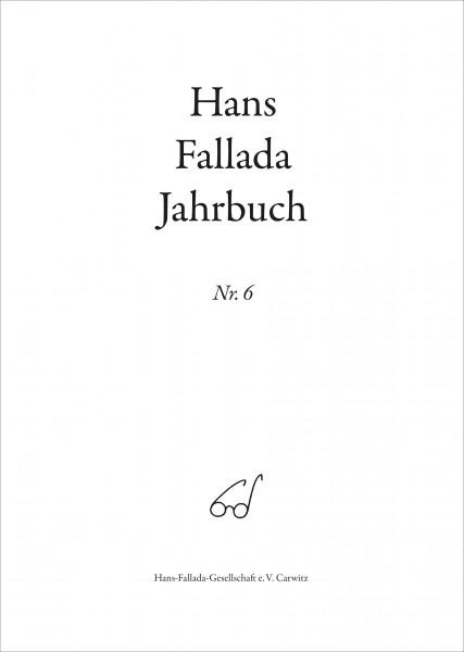 Hans Fallada Jahrbuch Nr. 6