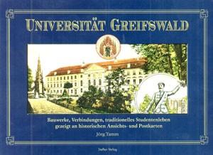 Universität Greifswald, Historische Postkarten